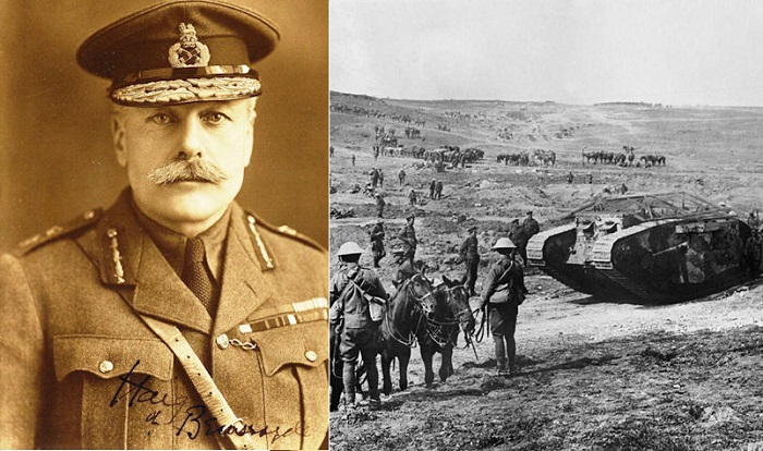 Британский фельдмаршал Дуглас Хейг.