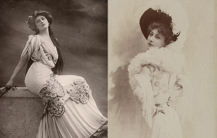 Лиана де Пужи (Liane de Pougy) - известная куртизанка прекрасной эпохи.